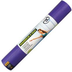 Tapis de Yoga Warrior 2 violet - Yoga-Mad