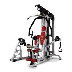 Le TT Pro G156 est un appareil à charge guidée ou encore une presse de musculation qui a la particularité de combiner 2 postes d'entraînement