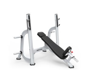 banc developpé incliné musculation