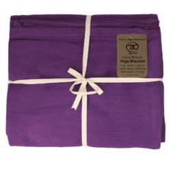 couverture de yoga en coton yogamad