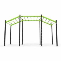 Excellent rapport qualité/prix, cette cage d'entraînement est polyvalente avec un grand nombre d'accessoires disponibles.