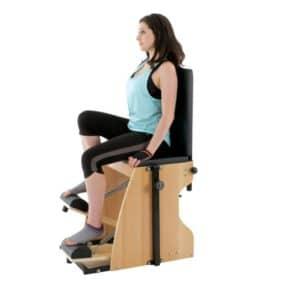 La chaise de Pilates Wunda Chair Wunda chair est facile d'utilisation, très confortable avec une qualité de fabrication exceptionnelle pour un prix imbattable sur le marché