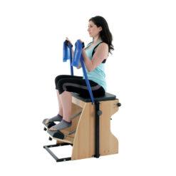 Exercices avec élastiques et Combo Chair Align-Pilates