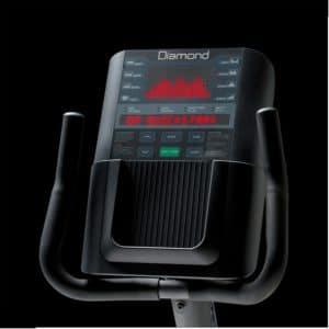 Console JK Fitness Vélo semi allongé Diamond D40 à utilisation porfessionnelle