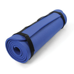 Tapis core fitness bleu Pilates-Mad