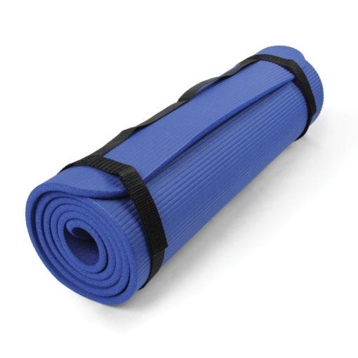 Tapis core fitness bleu Pilates-Mad