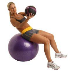 medecine ball swiss ball