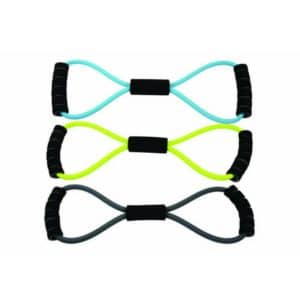 Le Figure 8 Resistance Band de Fitness-Mad est l'accessoire de fitness parfait, polyvalent et adaptable.