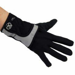 gants noirs pour la course fitness mad