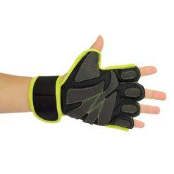 Les gants Power Lift sont étudiés pour soulever des charges lourdes avec sa large bande de maintien