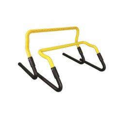Cette haie d'entraînement Fitness-Mad offre un choix de deux hauteurs de 18 ou 30cm