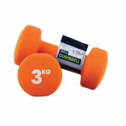 Les haltères en néoprène de 3 kg de Fitness-Mad sont particulièrement résistants et adaptés à une utilisation en salle de sport