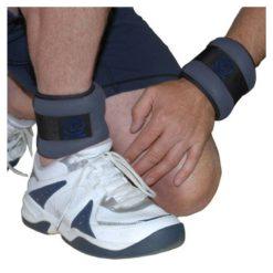 Les poignées et chevilles lestées 2 x 1 kg de Fitness-Mad sont particulièrement résistantes et confortables