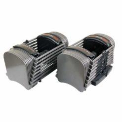 Compact et puissant, les haltères ajustables PowerBlock Sport 50 permet d'économiser de l'espace dans votre salle de musculation