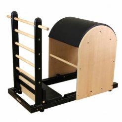 Le Ladder Barrelreprésente un excellentcomplément pour tout studio de Pilates car il permet d'ajouter une dimension supplémentaire aux étirements classiques
