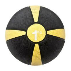 e ballon lesté ou « Medecine ball » de Fitness-Mad est un superbe outil pour une séance d'entraînement complète du corps