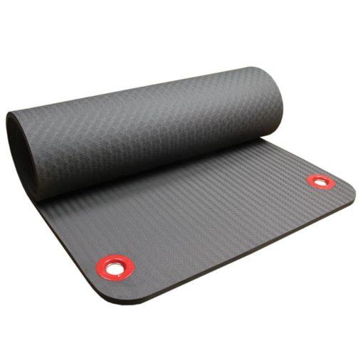 tapis de fitness avec oeillets