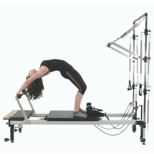 le HalfCadillac Align-Pilates peut être utilisé avec le Reformer Align Pilates C2-PRO