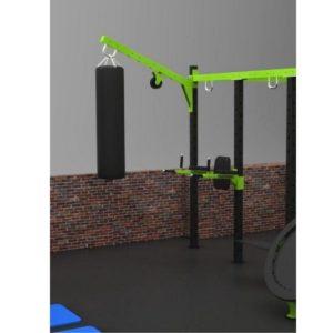 Facile et rapide à installer, cette poignée multifonction permet d'attacher à votre cage BodyTone