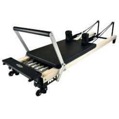 Pilates Reformer C2 PRO Wood Effect - Stelvoren