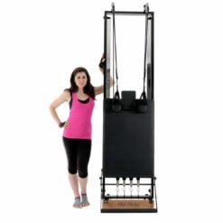 La nouvelle version duReformer Pilates pour la maison de Align-Pilates, le H1 Home Reformervous apporte les bénéfices d'une séance d'entraînement sur unReformer Pilates à domicile.
