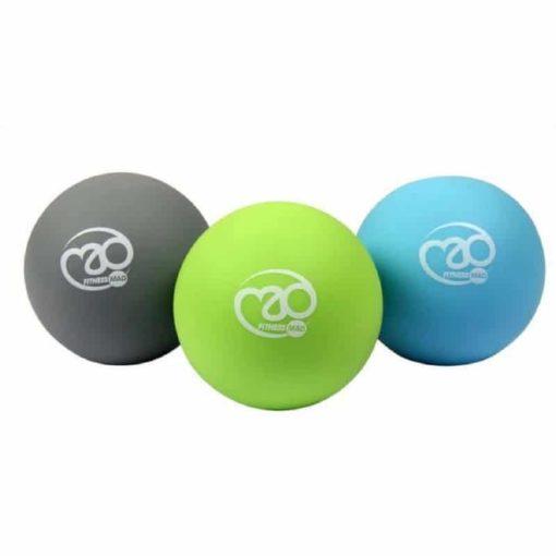 Set de massage avec 3 duretés différentes pour massage par acupression