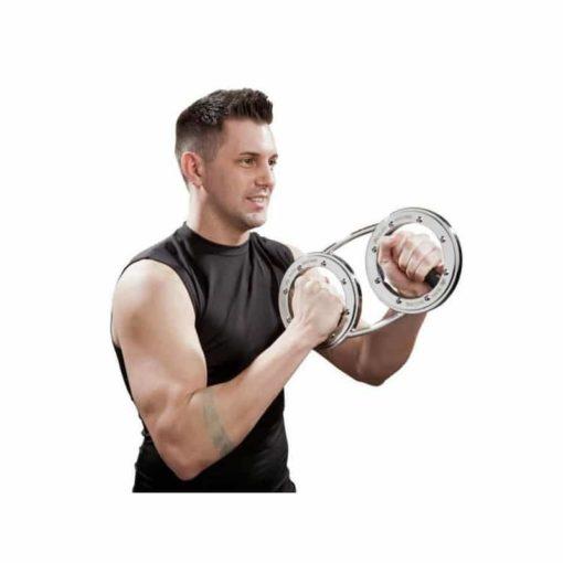 La barre Burn Machine de 3,6kg est la plus polyvalente des barres Burn Machine