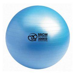 Le Swiss Ball 300kg de 55 cm de diamètre de Fitness-Mad est particulèrement adapté à une utilisation intensive