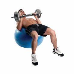 Le Swiss Ball 300kg de 75 cm de diamètre de Fitness-Mad est particulèrement adapté à une utilisation intensive