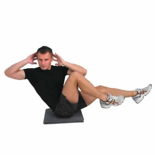 Le tapis de gym Pro Strech Aérobic est réversible et antidérapant