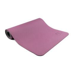 Tapis de Yoga 6mm Evolution Yoga Mat aubergine/gris - Stelvoren