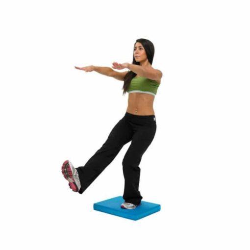 Le Balance Pad de Fitness-Mad est adapté aux entraînements de gainage et d'équilibre et permet d'améliorer la coordination et la stabilité.