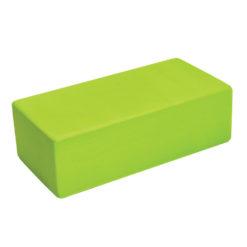 Brique de Yoga EVA haute densité Lime de Yoga-Mad