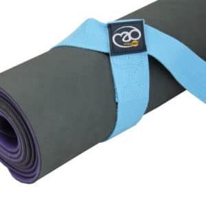 Sangle de Yoga 2 en 1 Light Blue - Yoga-Mad
