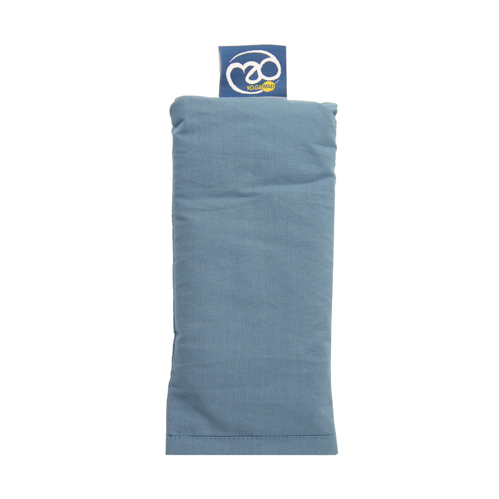 Coussin de Yoga Bio pour les yeux Gris bleu - Stelvoren a97ca5301bf