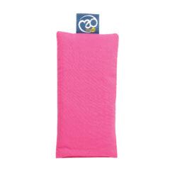 Coussin de Yoga Bio yeux Hot pink