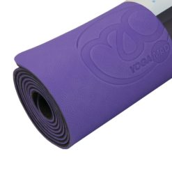 Tapis de Yoga 4mm Evolution violet - Yoga-Mad