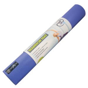 Tapis de Yoga Warrior 4mm bleu - Stelvoren