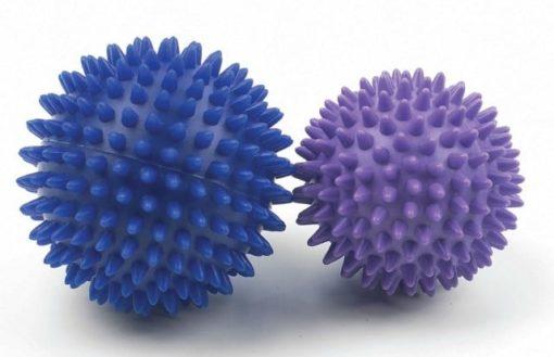 balles de massage avec picots 7cm et 9cm