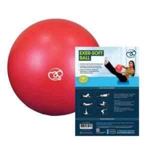 ballon de paille 23cm fitness mad