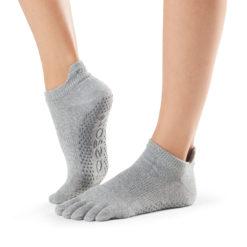 chaussettes de yoga Toesox à cinq doigts pour le Pilates - Stelvoren