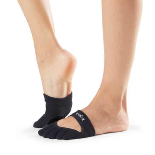 chaussettes de danse toesox full toe Relevé Black - Stelvoren