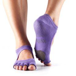chaussettes de danse à orteils Toesox Half Toe Plié - Stelvoren