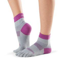 chaussettes de sport minnie orchid de toesox