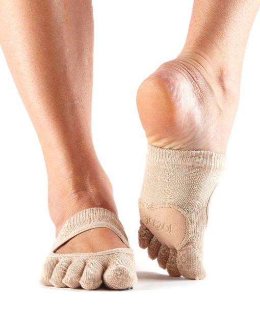 chaussettes de danse toesox demi