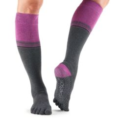 chaussettes haute full toe scrunch knee high