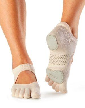 chaussettes de danse a orteils separes toesox