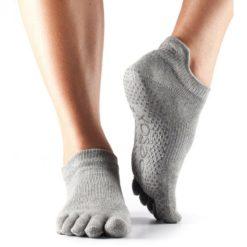 chaussettes de yoga pilates antiderapantes toesox