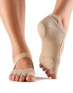chaussettes de danse à orteils séparés toesox