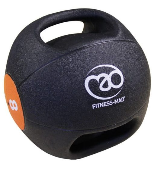 medecine ball double grip 8kg